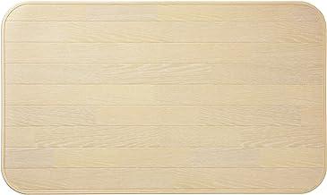 チェアマット 木目 撥水・防炎 ホワイト 60×120cm 2050101088EZ4