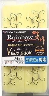 TACKLE in JAPAN(タックルインジャパン) レインボー・アユ3本錨 バリューパック トリプルフック 6.75 釣り針