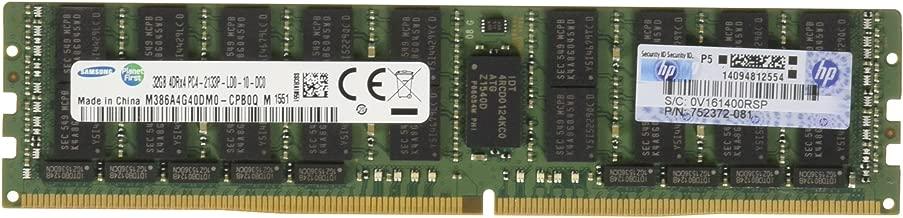 HP 32GB (1 x 32GB) Quad Rank x4 DDR4-2133 CAS-15-15-15 Load Reduced Memory Kit [PN: 726722-B21]