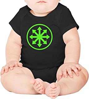 SUITPANRe Unisex Baby Short Sleeve Onesies Music Logo Design Cotton Bodysuit Crew Neck 3-24 Months