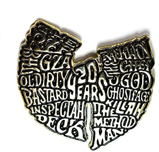 WuTang Clan 20 Years RZA GZA Ghostface Killah Method Man Collectible Hip Hop Pendant Lapel Hat Pin