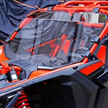 can am maverick x3 glass windshield