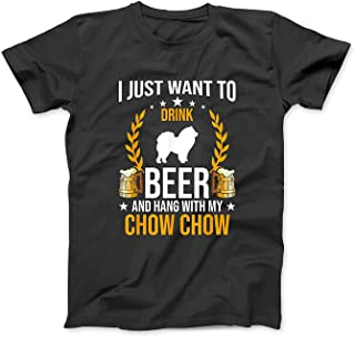 Mint Mama Drink Beer and Hang with My Chow Chow Dog Lover Gift T-Shirt