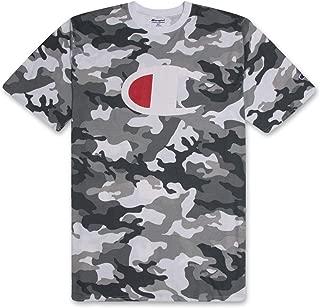 Mens Shirt Big and Tall Mens T Shirts Active Crewneck T Shirt