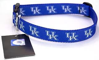 All Star Dogs Blue Kentucky Wildcats Ribbon Dog Collar