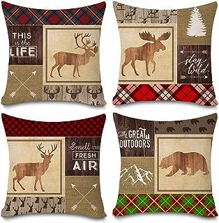 Best log cabin pillow Reviews