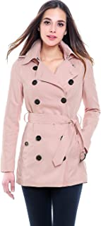 Women's Tori Waterproof Classic Hooded Short Trench Coat