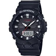 Casio Men's G-Shock GA800-1A Black Resin Japanese Quartz Sport Watch