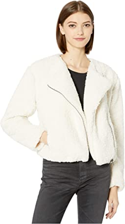 Country Roads Faux Fur Shearling Jacket