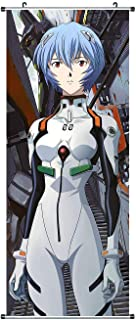 CosInStyle Large Fabric Roll Picture, for Rei Ayanami Kakemono, 100 x 40 cm