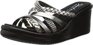 Cali Women's Rumblers-Social Butterfly Wedge Sandal
