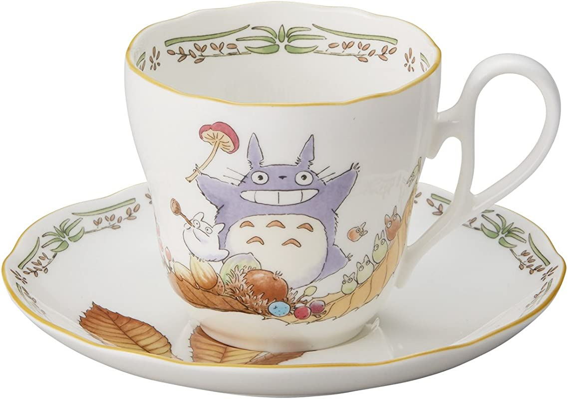 Noritake X Studio Ghibli Neighbor Totoro Mug Cup And Saucer TT97889 4924 3