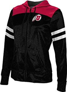 ProSphere University of Utah Women's Zipper Hoodie, School Spirit Sweatshirt (Gameday)