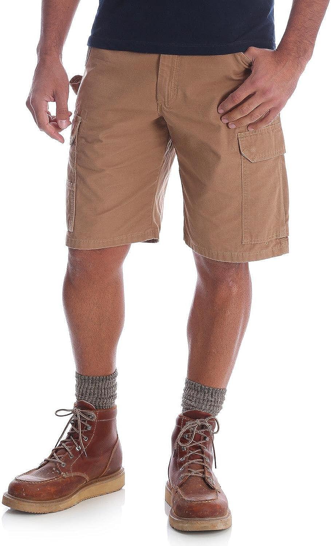 In a Many popular brands popularity Wrangler Riggs Workwear Men's Short Ripstop Cargo Ranger