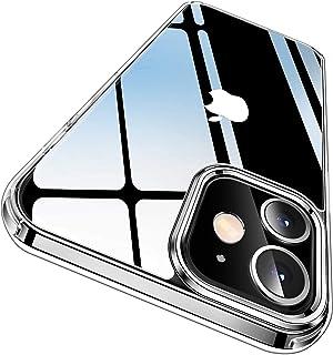 BoxWave Capa para Apple iPhone 12 Pro [capa de vidro TrueView] - capa de vidro temperado híbrido com dureza 9H para Apple ...