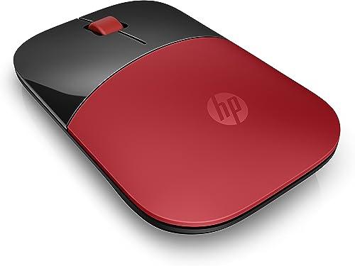 HP Z3700 - Souris Sans Fil Rouge (USB, 1200 DPI, Ambidextre)
