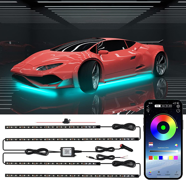 HERANE Car Underglow Ranking TOP11 Lights APP Millions Now free shipping Bluetooth 16 C Control