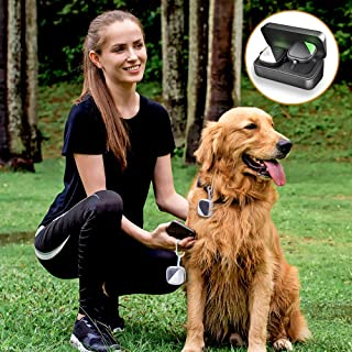 Pet GPS Tracker for Dogs Cats,No Monthly fee, Real-Time...