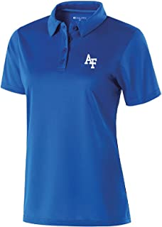 Ouray Sportswear NCAA Air Force Falcons Women's Shift Polo, Large, Royal