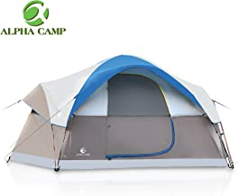 ALPHA CAMP 6-8 Person Dome Family Tent Camping Tent