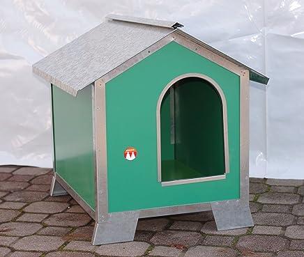 Caseta para perros Talla media-piccola en madera con perfiles de acero (Medidas 58