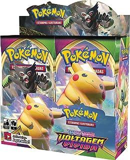 Caixa de Booster Pokémon Estampas Ilustradas Espada e Escudo - Voltagem Vívida