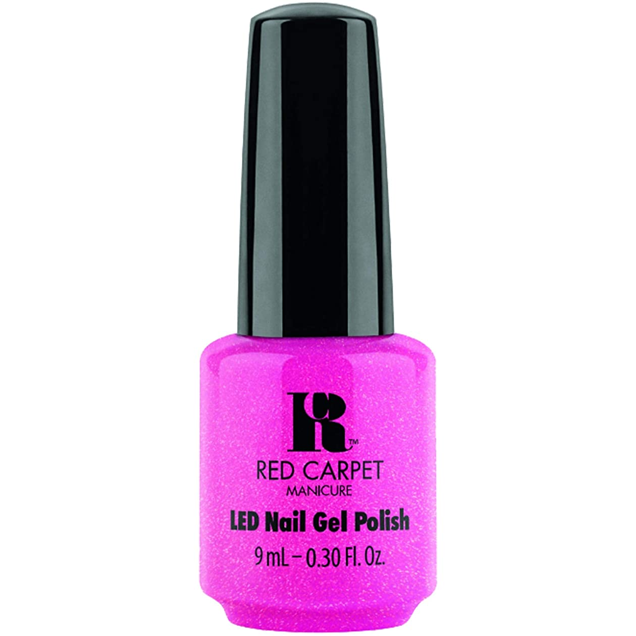 ドリンクプロット回るRed Carpet Manicure - LED Nail Gel Polish - A-Muse Me - 0.3oz / 9ml