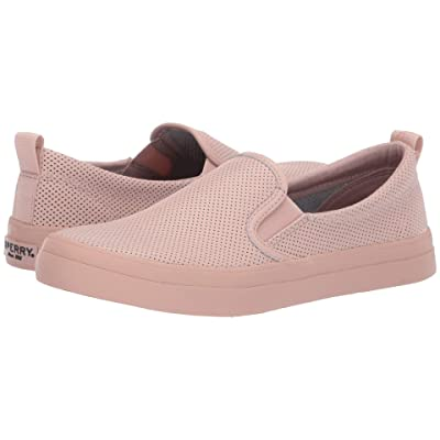 Sperry Crest Twin Gore Mini Perf (Rose Dust) Women