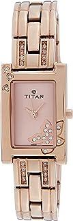 Titan Purple - Glam Gold Analog Pink Dial Women's Watch -NK9716WM01