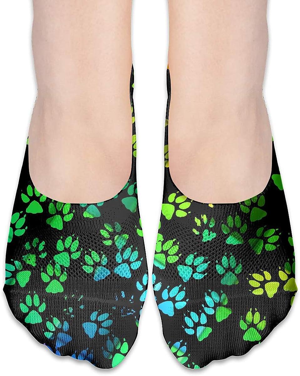 No Show Socks Women Men For Colorful California Bear Claw Flats Cotton Ultra Low Cut Liner Socks Non Slip