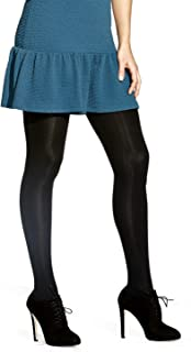 No Nonsense Women's Super Opaque Control-Top Tights
