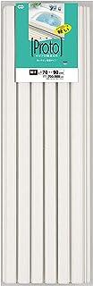 オーエ ポリプロ 風呂ふた アイボリー 幅70×長さ80cm プロト 防カビ加工 白 M-9