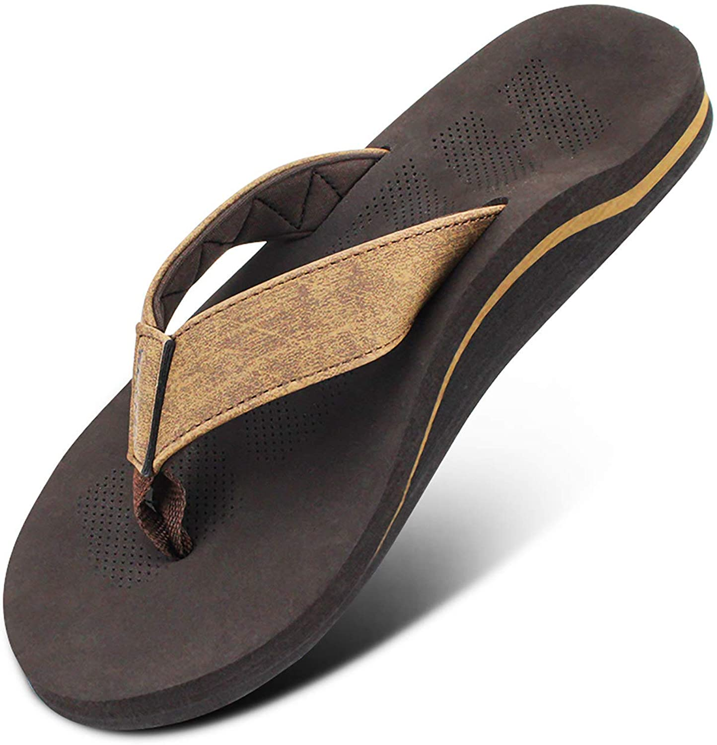 Men Sandals Flip Flop with Orthotic Flat Plantar Japan's largest assortment Feet Safety and trust For Fascii