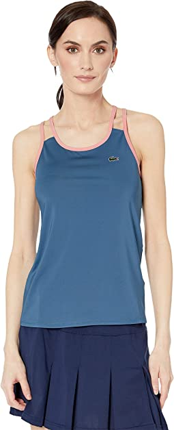 Stretch Technical Jersey Tennis Tank Top