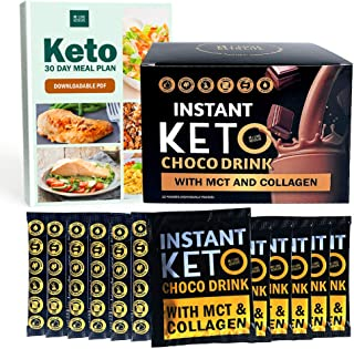 iLoveKetoLife Keto Chocolate Drink Snacks - Delicious Breakfast and Snack Companion| Ideal for Ketogenic Diet and Balanced Weight Loss Plan | Travel Friendly |12 Grams per Sachet x 12 Pieces
