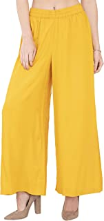 Lagi Women Plazo Plazzo Bottom Wear Ethnic Palazzo Pants Trousers with Kurti Kurtis Kurta
