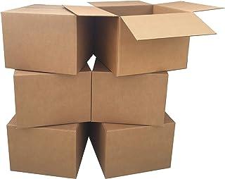 """Amazon Basics Moving Boxes - Large, 20""""x20""""x15""""/12 pack"""