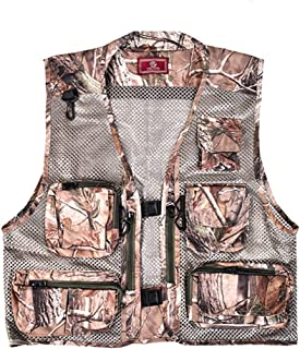 ポケットベスト衣類写真撮影釣りベストマルチカラーベストカジュアルベスト (色 : B, サイズ さいず : Xl xl)
