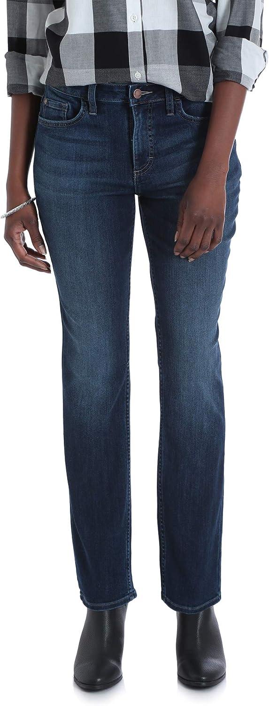 shipfree Lee Riders trust Women's Midrise Straight Dark Wa Denim Jeans Premium
