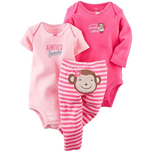 Carters Baby Girls 3 Piece Take Me Away Set ...