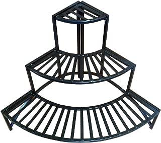 Pangaea Home and Garden Folding Corner Three Layer Iron Plant Stand