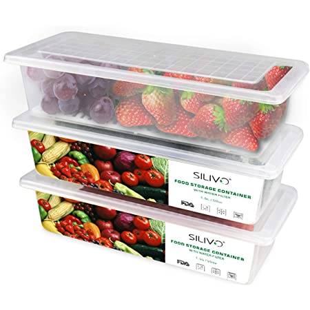 Details about  /2 Grids Food Container Lunch Fruit Storage Box Refrigerator With Lid FM