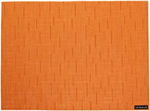 Chilewich Bamboo Rectangle Table Mat Mandarin (One Piece)