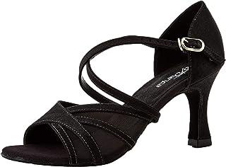 Bl162, Zapatos de Baile de Sociedad y Latina para Mujer