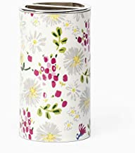 Kate Spade New York Dahlias Tooth Brush Holder Bath Accessories, White/Pink/Yellow