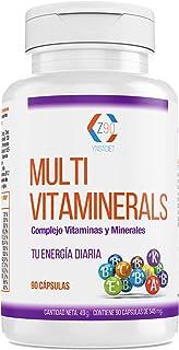 Complejo vitamínico con minerales, vitamina C, vitaminas B2