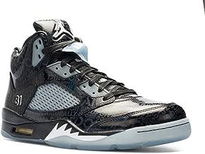 Nike Mens Air Jordan 5 Retro DB Doernbecher Black/White-Black Leather Size