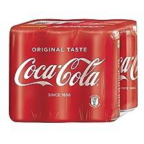 Coca-Cola Classic Coke, 6 X 300 ml