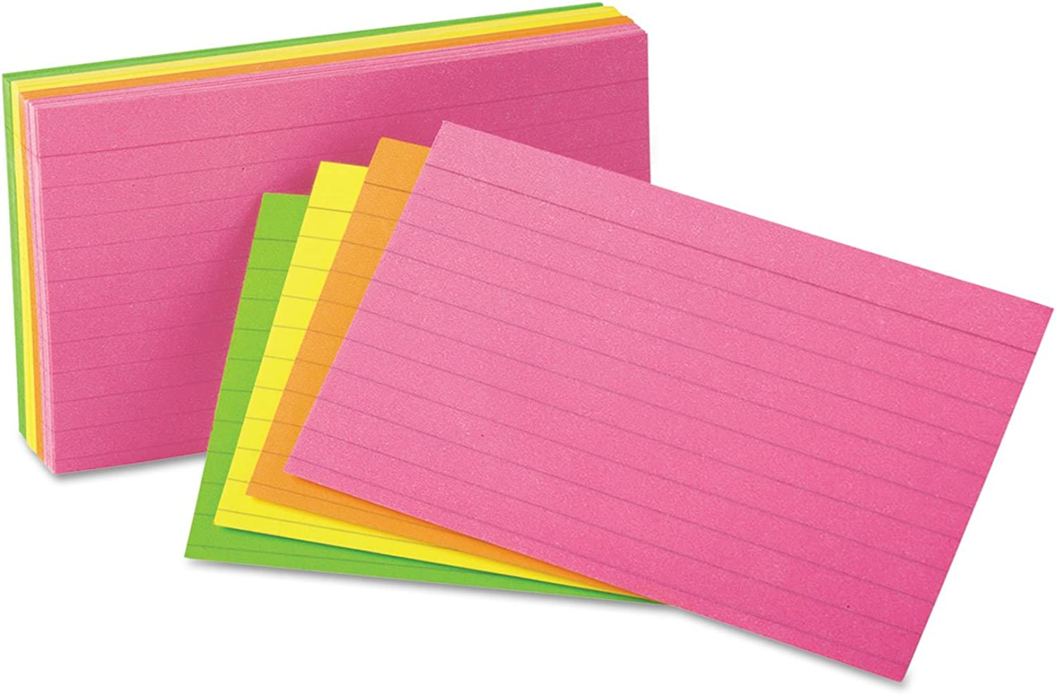Ruled Neon Glow Index Cards Größe  4 H x x x 6 W by Universal B00VVFTUUE | Outlet Online Store  8ff60c