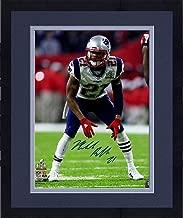 Framed Malcolm Butler Signed Super Bowl 51 16x20 Photo - Steiner Sports Certified - Autographed NFL Photos